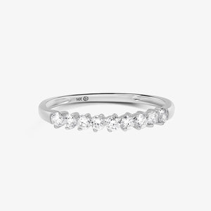 Diamond Wedding Band - estellacollection
