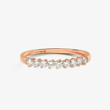 Load image into Gallery viewer, Diamond Wedding Band - estellacollection
