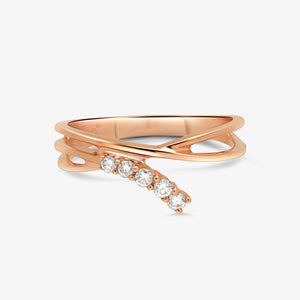 Chic Diamond Fashion Ring - estellacollection