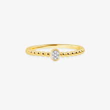 Load image into Gallery viewer, Petite Diamond Promise Ring - estellacollection
