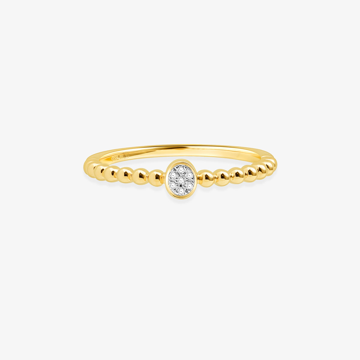 Petite Diamond Promise Ring - estellacollection
