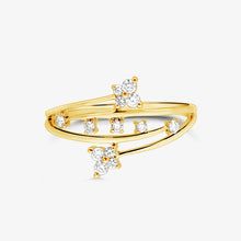 Load image into Gallery viewer, Linea - Diamond Fashion Statement Ring - estellacollection