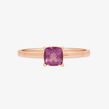 Load image into Gallery viewer, Genuine Amethyst Gemstone Ring - estellacollection
