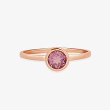 Load image into Gallery viewer, Women's Amethyst Gemstone Ring - estellacollection