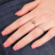 Load image into Gallery viewer, Petite Disc Fashion Diamond Ring - estellacollection