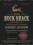 Buck Shack Cabernet Sauvignon (Lake Co.) 17