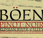 Boen Pinot Noir (Russian River Valley) 18