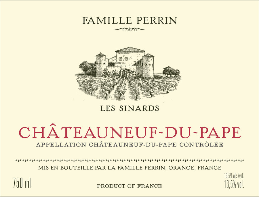 Perrin Chateauneuf-Du-Pape `les Sinards` 17