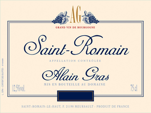 Alain Gras Saint-Romain Rouge 17