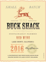 Buck Shack Red Blend (Lake Co.) 17