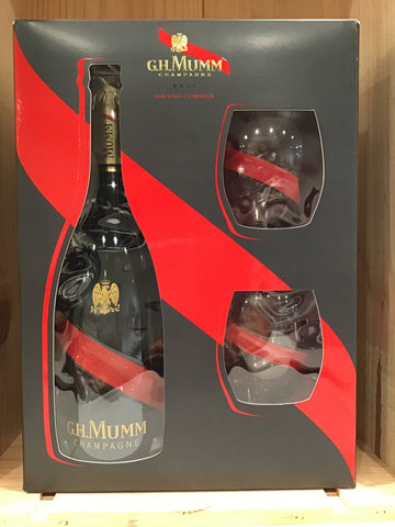 G.H. Mumm Grand Cordon Brut Champagne Set