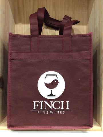 Finch Fine Wines Wine Bag