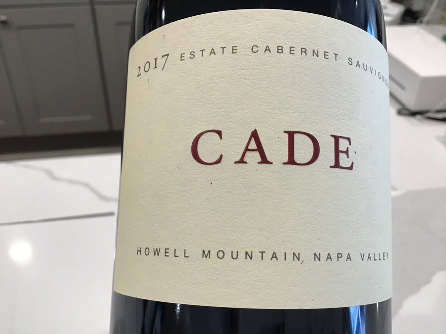 Cade Estate Cabernet Sauv (Howell Mtn) 16