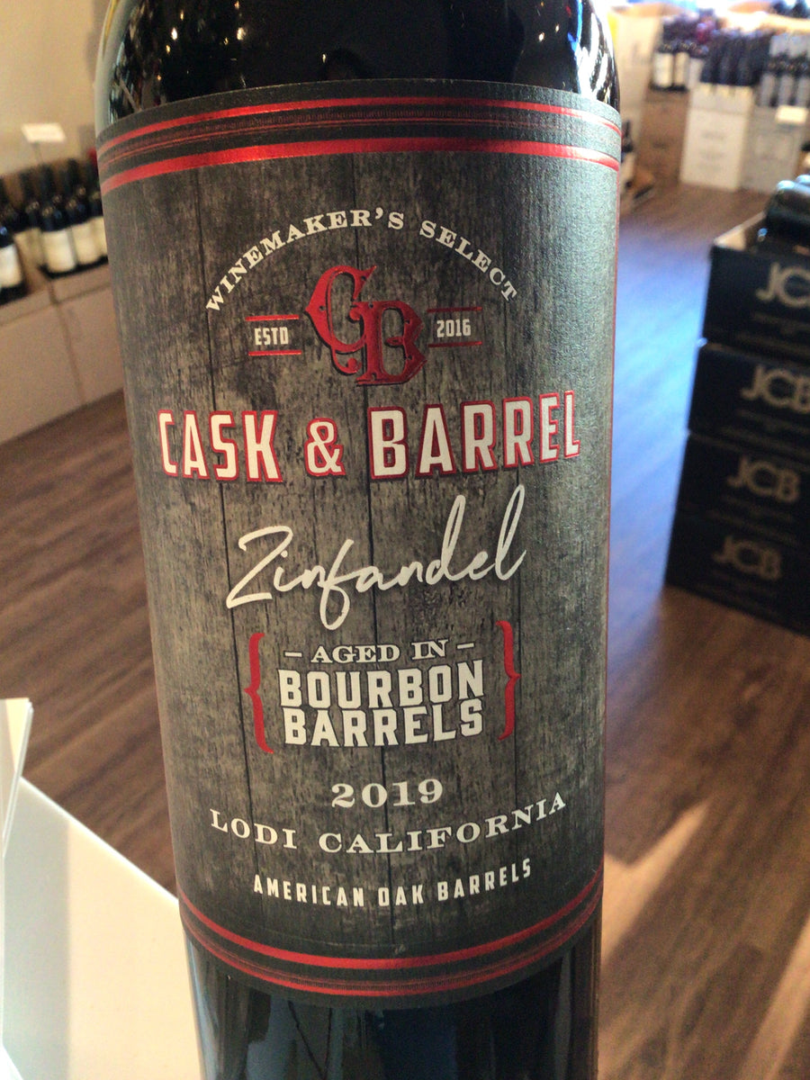 Cask & Barrel Bourbon Barrel Zinfandel (Lodi) 18