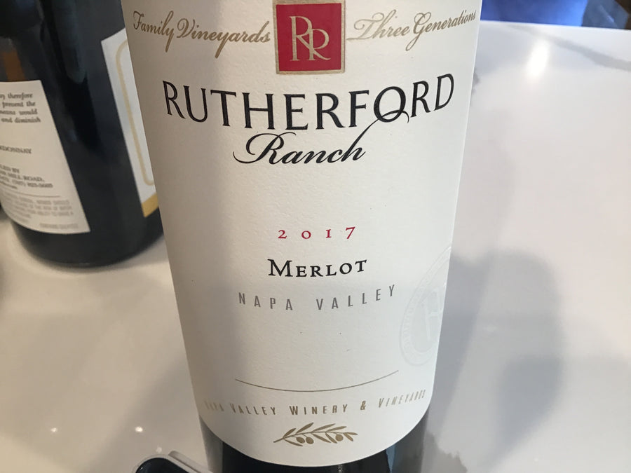 Rutherford Ranch Merlot (Napa) 16