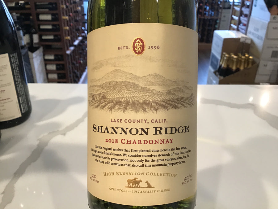 Shannon Ridge High Elevation Chardonnay