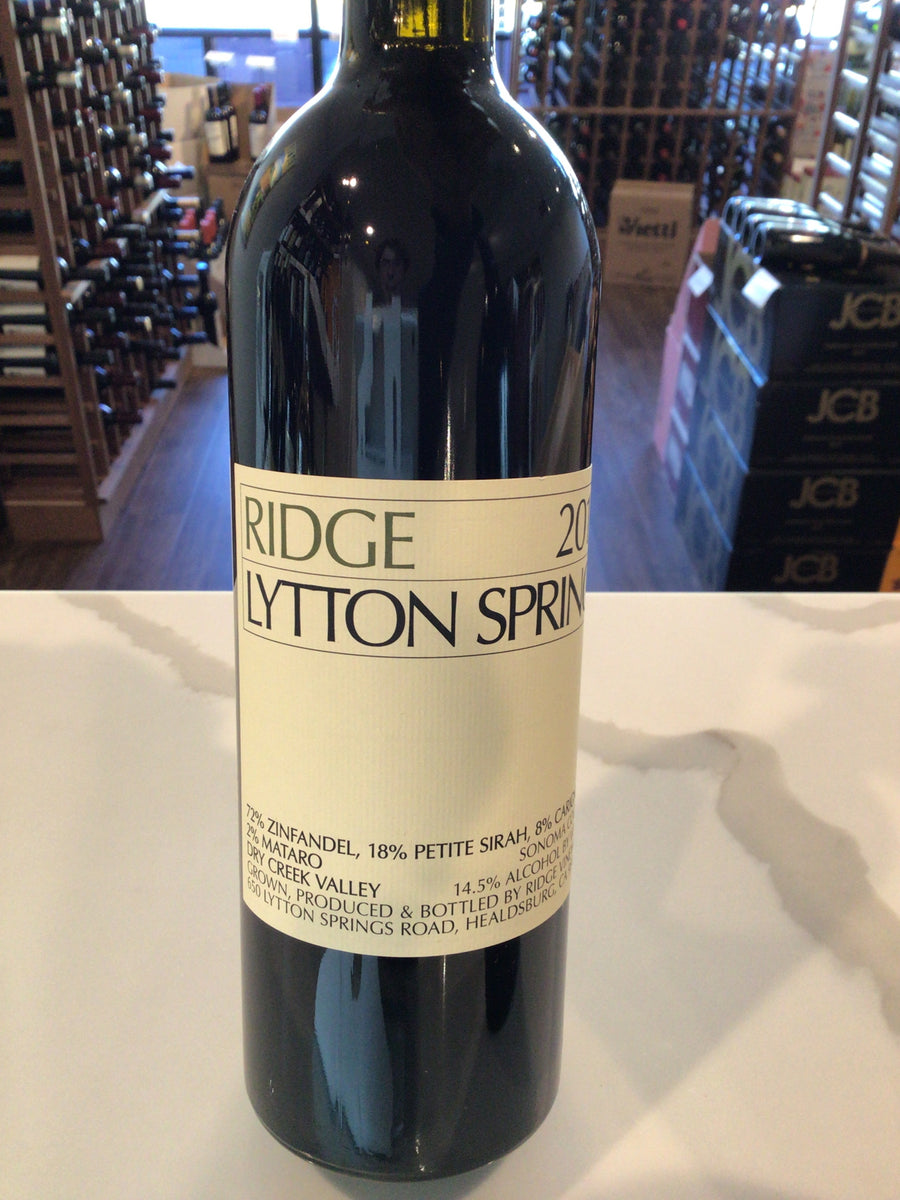 Ridge Lytton Springs (Zin/Ps/Car) Dry Ck 17