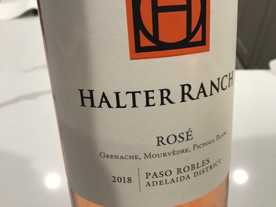 Halter Ranch Rose` (G.S.M.) Paso Robles 18