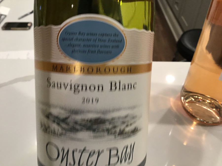 Oyster Bay Sauvignon Blanc (Marlborough, Nz) 19