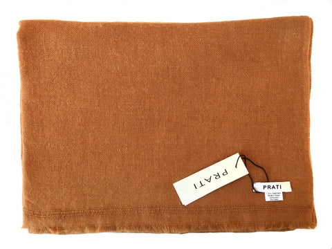 The Havana scarf 1 ply ochre color
