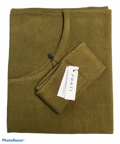 Cashmere poncho and handwarmers forest green