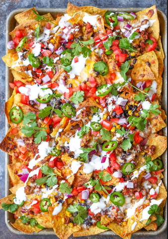 Zesty Chicken Nachos
