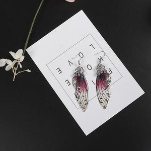 Wings Drop Earrings for Women - Jenicy