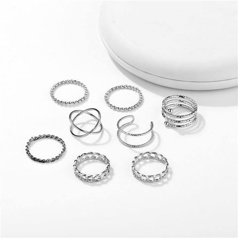 Vintage Rings Set For Women - Jenicy