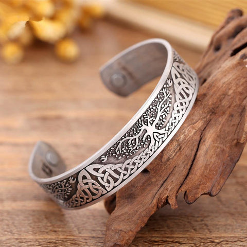 Tree of Life Cuff Bracelet - Jenicy