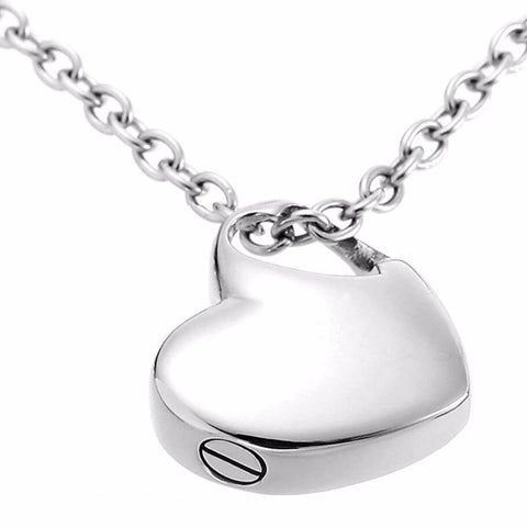Stainless Steel Small Heart Locket - Jenicy