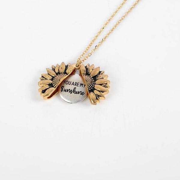 Sunflower Locket Necklace - Jenicy