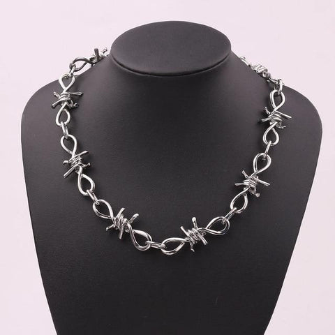 Wire Chain Necklace - Jenicy