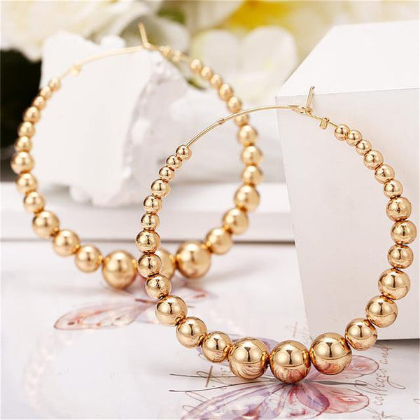 Oversized Hoop Earrings For Women - Jenicy
