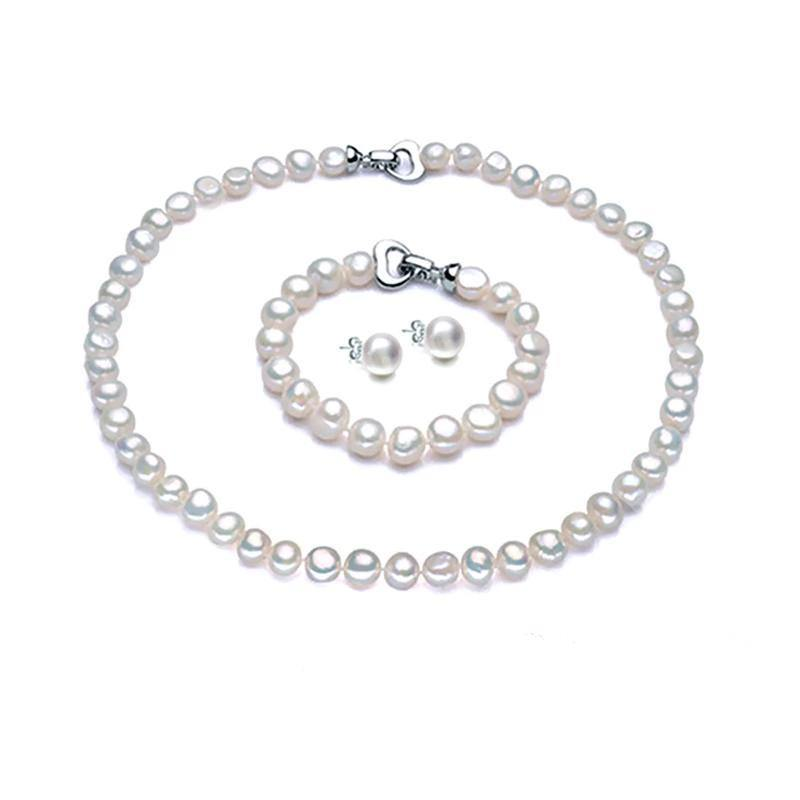 Pearl Jewelry Set for Women - Jenicy
