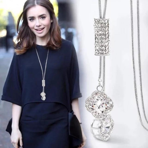 Classic Long Chain Necklace - Jenicy