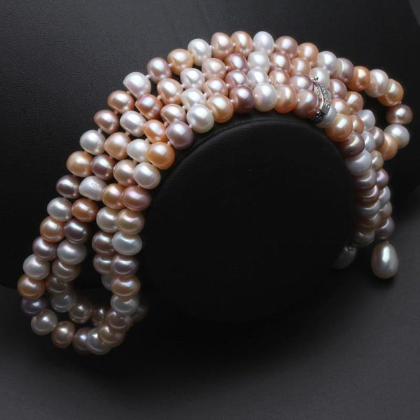 Freshwater Pearls long Necklace - Jenicy