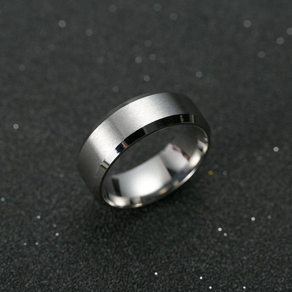 Titanium Band Ring for Men - Jenicy
