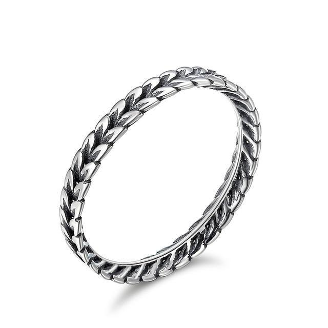 Sterling Silver Stackable Ring - Jenicy