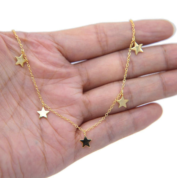 Stars Charm Necklace - Jenicy
