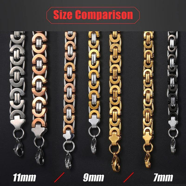 Stainless Steel Chain for Men - Jenicy