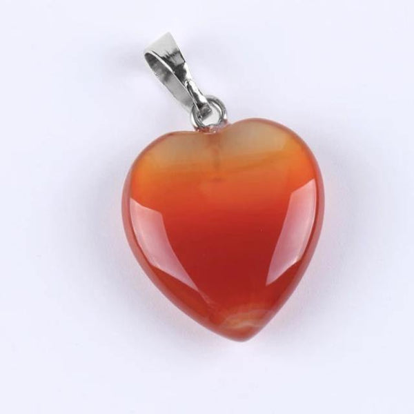 Heart Natural Stone Necklace - Jenicy