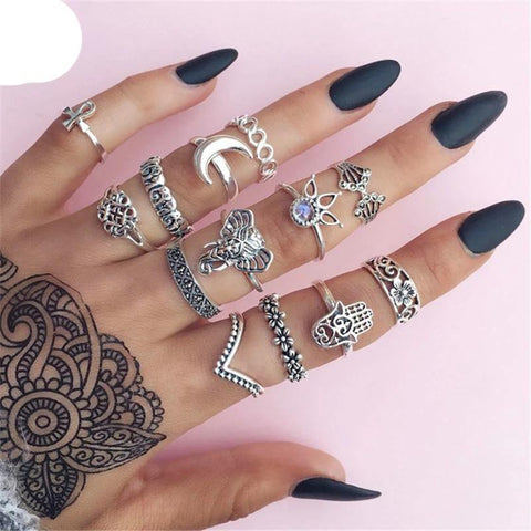 Bohemia Midi Rings for Ladies - Jenicy