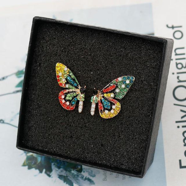 Butterfly Stud Earrings - Jenicy