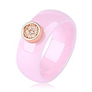 Classic Ceramic Band Ring - Jenicy