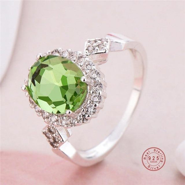 Crystal Halo Ring for Women - Jenicy