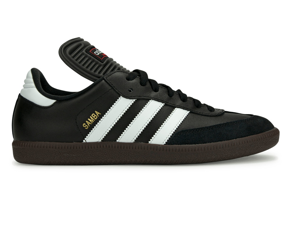 adidas Samba Classic Indoor Soccer Shoes  Black/White