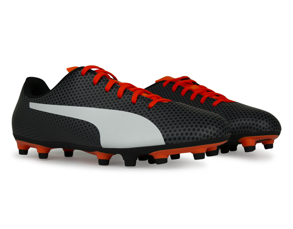 PUMA Men's Spirit FG Black/Orange