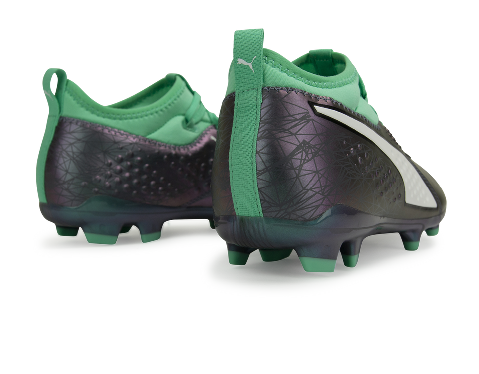 PUMA Men's ONE 3 ILLUMINATE FG Shift/Green