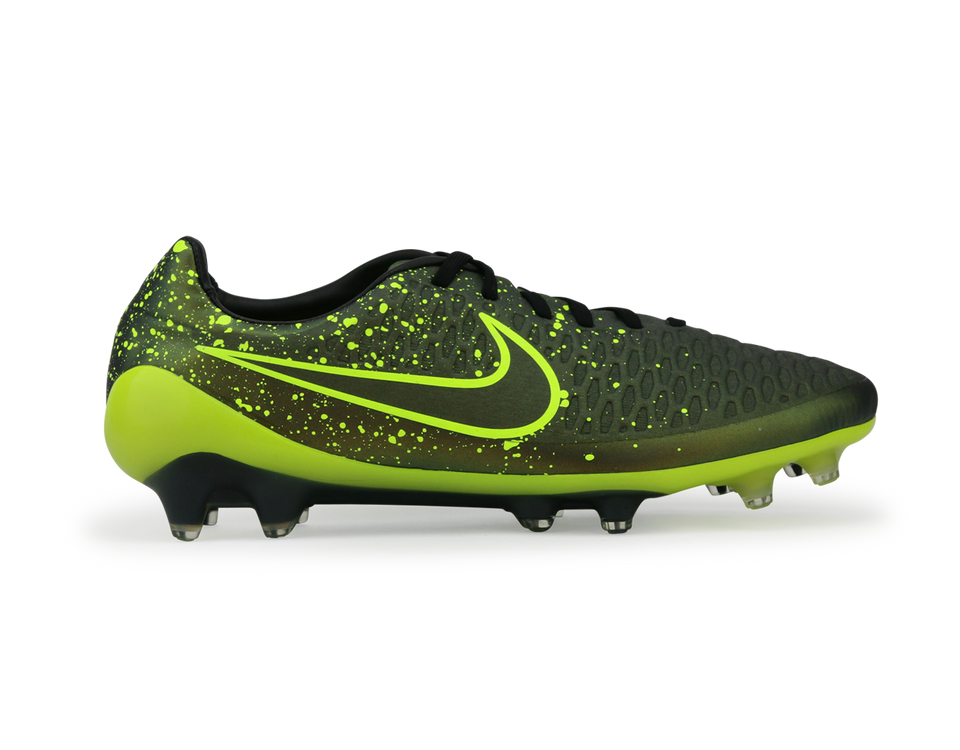 Nike Men's Magista Opus FG Dark Citron/Black/Volt