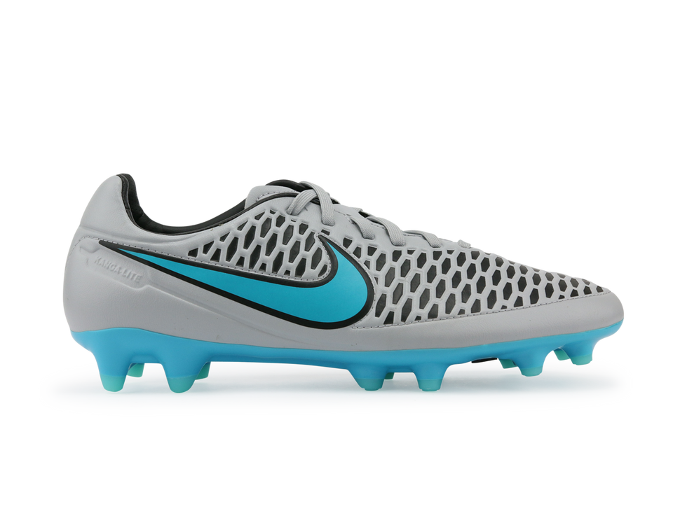 Nike Men's Magista Orden FG Wolf Grey/Black/Turquoise Blue